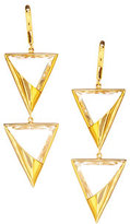 Lana 14k Elite Jetset Crystal Duo Earrings