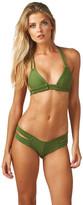 Montce Swim - Olive Braided T-Top X Euro Bottom Bikini Set