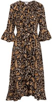 At Last... Felicity Dress- Black Paisley