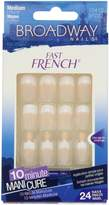 Broadway Fast French Nail Kit, Pink