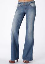 Paris Blues Stretch Extend Tab Wide-Leg Jean