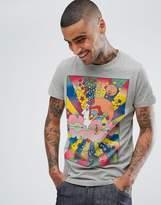 Wrangler Peter Max Artist T-Shirt Grey