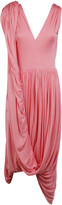 Celine Asymmetrical Draped Dress