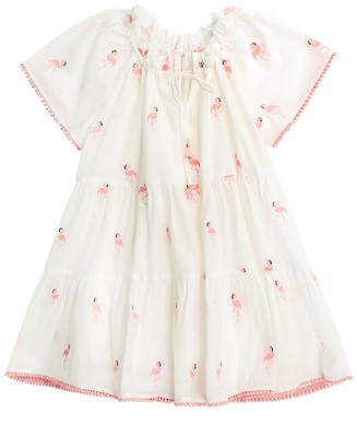 Zimmermann Bells Sleeve Tiered Dress