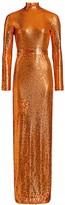 Marc Jacobs Sequin Jersey Column Gown