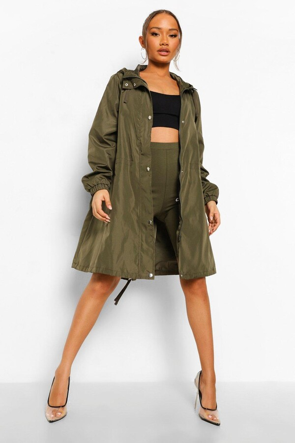 Thumbnail for your product : boohoo Oversized Hooded Festival Mac