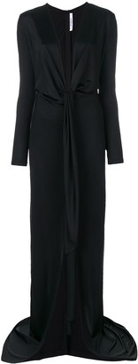 Givenchy Floor Length Empire Line Dress