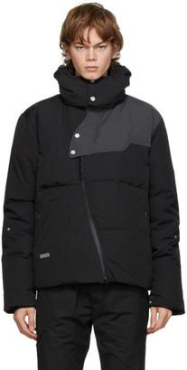 C2H4 Grey Down Loom Puffer Jacket