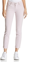 Paige Kylie Cropped Skinny Jeans in Sweet Mauve - 100% Exclusive