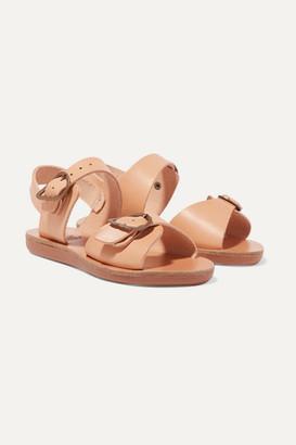 Ancient Greek Sandals Kids - Size 23 - 34 Little Irini Buckled Leather Sandals