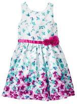 Gymboree Floral Duppioni Dress