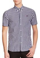 Fred Perry Gingham Button-Down Shirt