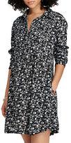 Denim & Supply Ralph Lauren Floral Printed Shirtdress