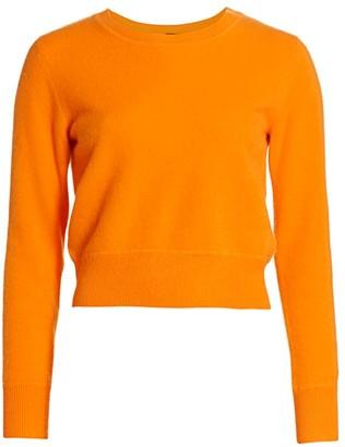 Naadam Crewneck Cashmere Cropped Sweater