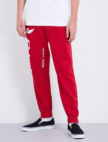 Off-White Parachute-print cotton-jersey jogging bottoms
