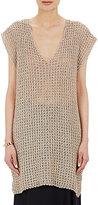 Simon Miller Women's Open-Stitched Silk Teton Tunic-BEIGE, IVORY