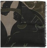 Valentino Garavani Valentino printed scarf - men - Silk/Modal/Cashmere - One Size