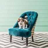 Graham and Green Brielle Blue Anyi Print Chair