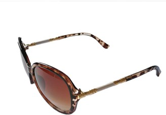F Fityle Women Sunglasses Cat Eye Polarize Ladies Fashion Retro Vintage Classic Metal Leg Shades for Girls - Leopard Print as described