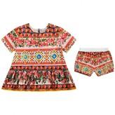 Dolce & Gabbana Dolce & GabbanaGirls Carretto Rose Top & Shorts Set