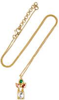 Amrapali 22-karat Gold Multi-stone Necklace - one size