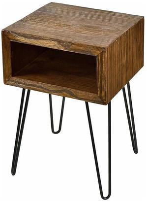 Welland Solid Pine Wood Nightstand