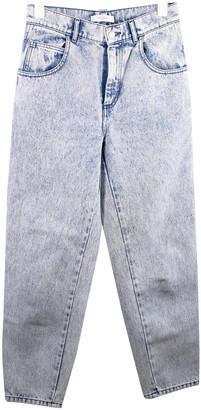 Roseanna Blue Cotton Jeans