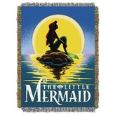 Northwest Company The Ariel Little Mermaid Poster Woven Tapestry Throw (48inx60in)