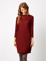 George Ribbed Jersey Dress