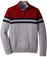 Tommy Hilfiger Connor 1/2 Zip Sweater (Big Kids)