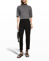 Thumbnail for your product : Eileen Fisher Washable Stretch Crepe Slim Ankle Pants