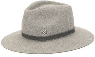 Maison Michel Raw Edge Band Hat
