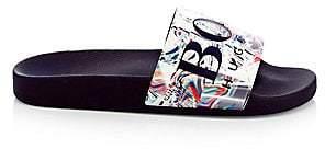 HUGO BOSS Men's Solar Logo Slide Sandals