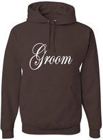 Go All Out Screenprinting Adult Groom Bridal Party Wedding Sweatshirt Hoodie