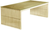 Pangea Home Lux Coffee Rectangle Table