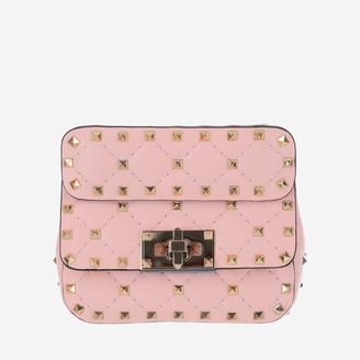 Valentino Rockstud Spike Micro Tote Bag