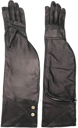 Rick Owens long gloves