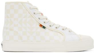 Vans Beige and White Taka Hayashi Edition UA OG 24 LX Sneakers