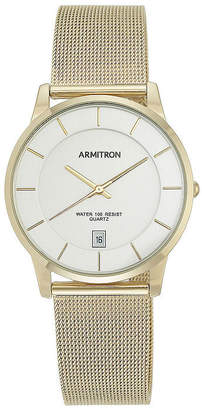 Armitron All Sport Mens Gold Tone Stainless Steel Bracelet Watch-20/5123svgp