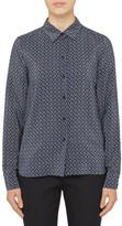 Stella McCartney Silk Printed Classic Shirt