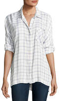 Soft Joie Aralinne Check Button-Down Shirt