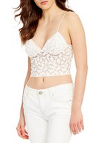 Free People Intimately FP Lacey Cropped Lace Camisole