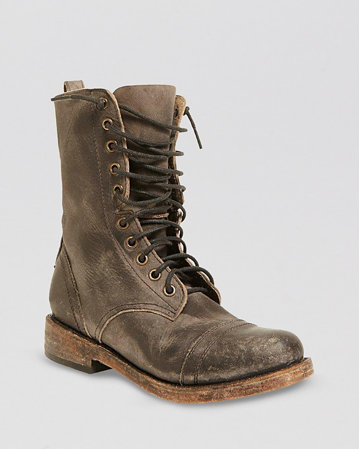 Freebird by Steven Lace Up Boots - Chase