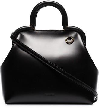 Jil Sander Clover leather tote bag