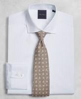 Brooks Brothers Golden Fleece Milano Slim-Fit Dress Shirt, English Collar Two-Tone Alternating-Stripe