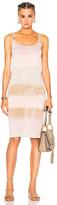 Raquel Allegra Layering Tank Dress in Brown,Ombre & Tie Dye,Pink.