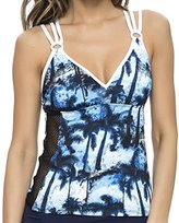 Nautica Women's Palm to Perfection Tankini