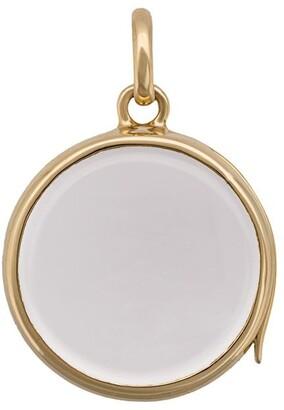 Loquet Medium Round Gold Locket pendant