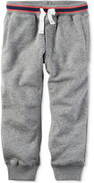 Carter's Grey Knit Jogger Pants, Toddler Boys (2T-4T)