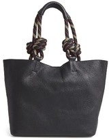 Rebecca Minkoff Climbing Rope Leather Tote - Black